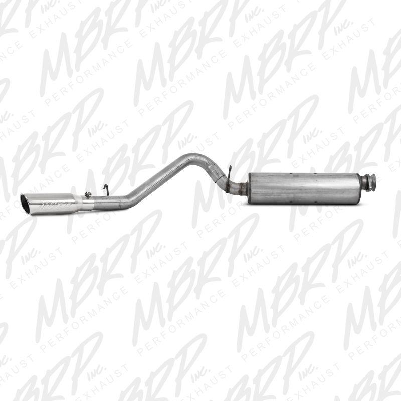 MBRP Installer Series Cat-Back Exhaust for 2000-2006 Jeep Wrangler TJ S5500AL