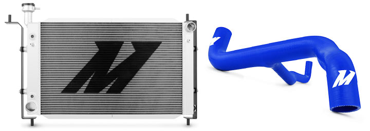 Muscle car radiators