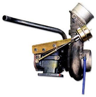 Quick-Turbo shown with the original compressor housing
